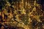 Dallas Metropolitan Area at Night