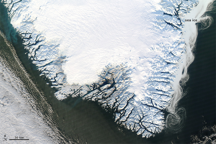 Winter in Southern Greenland