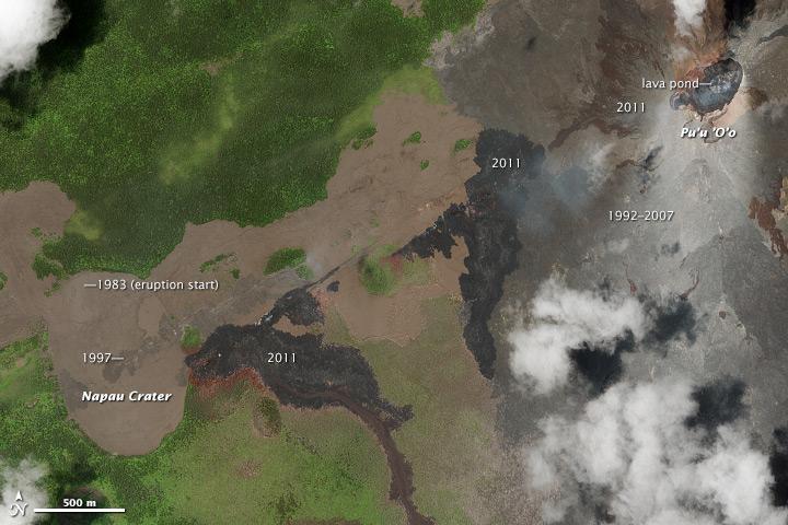 30th Anniversary of the Pu'u 'O'o Eruption on Kilauea