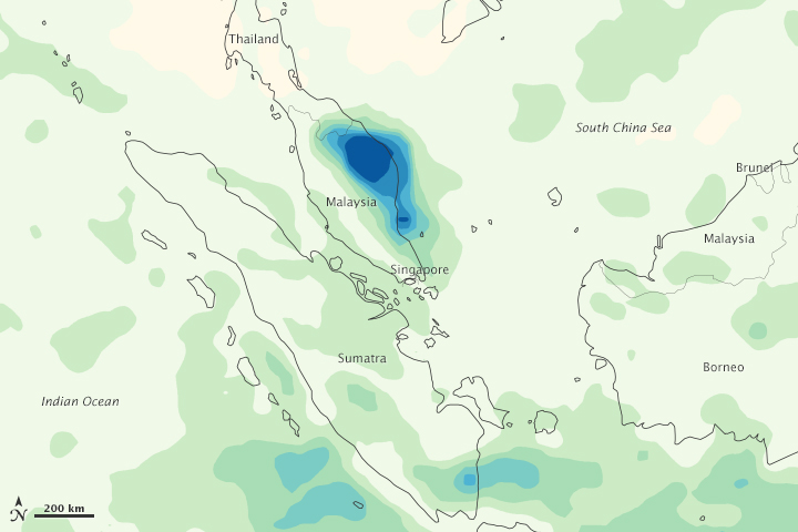 Heavy Rains in Malaysia - related image preview