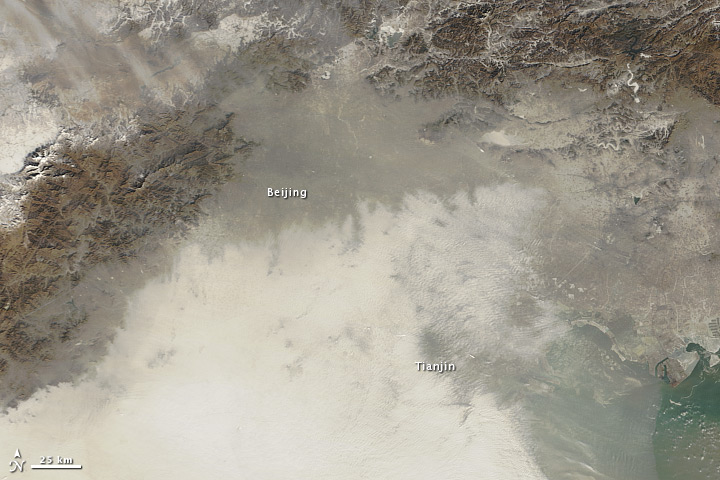 Air Quality Suffering in China