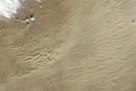 Dust Storm in Colorado and Kansas