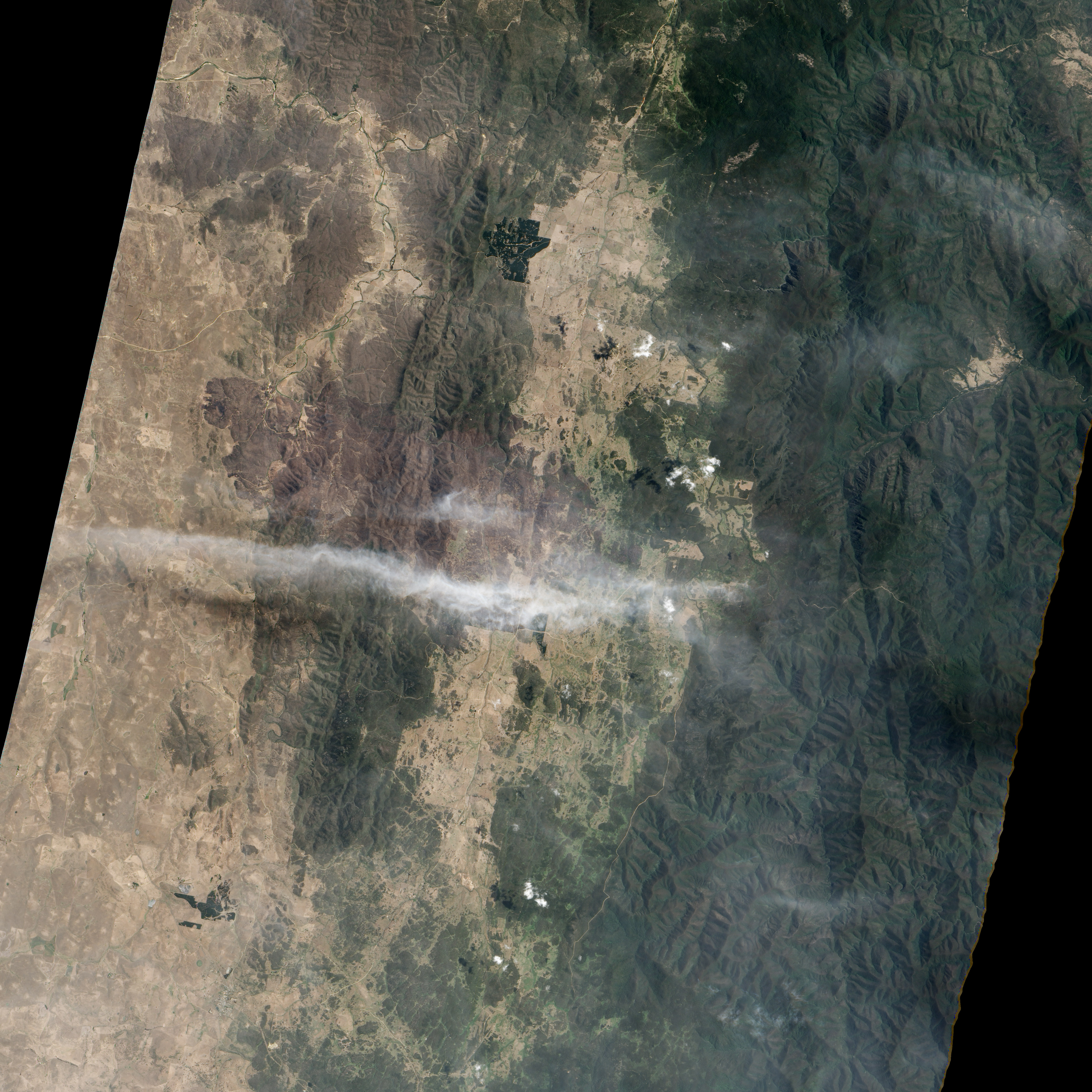 Burn Scar from the Yarrabin Fire in New South Wales - related image preview