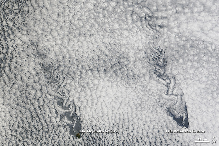 Von Karman Vortices off Chile
