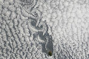 Von Karman Vortices off Chile