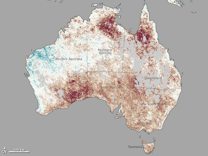 How Widespread was the Australian Heatwave?