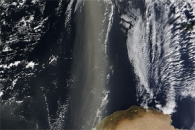 Dust across the Mediterranean Sea