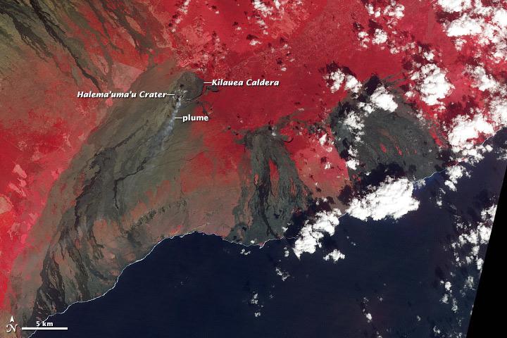 Activity at Kilauea's Summit