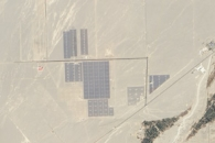 Solar Farm in Dunhuang