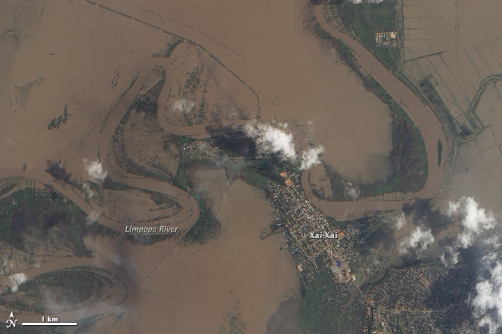 Flooding in Southern Africa
