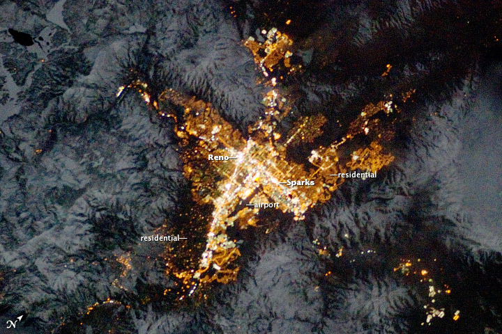 Reno, Nevada, at Night - related image preview