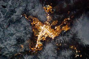 Reno, Nevada, at Night - selected image