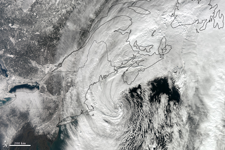 Early February Blizzard Buries Northeastern U.S.