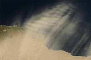Dust Storm in Libya