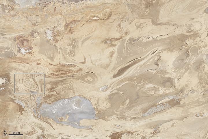 Iran's Great Salt Desert