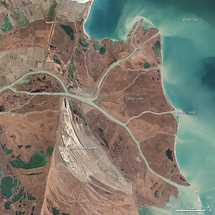 Where the Danube Meets the Black Sea