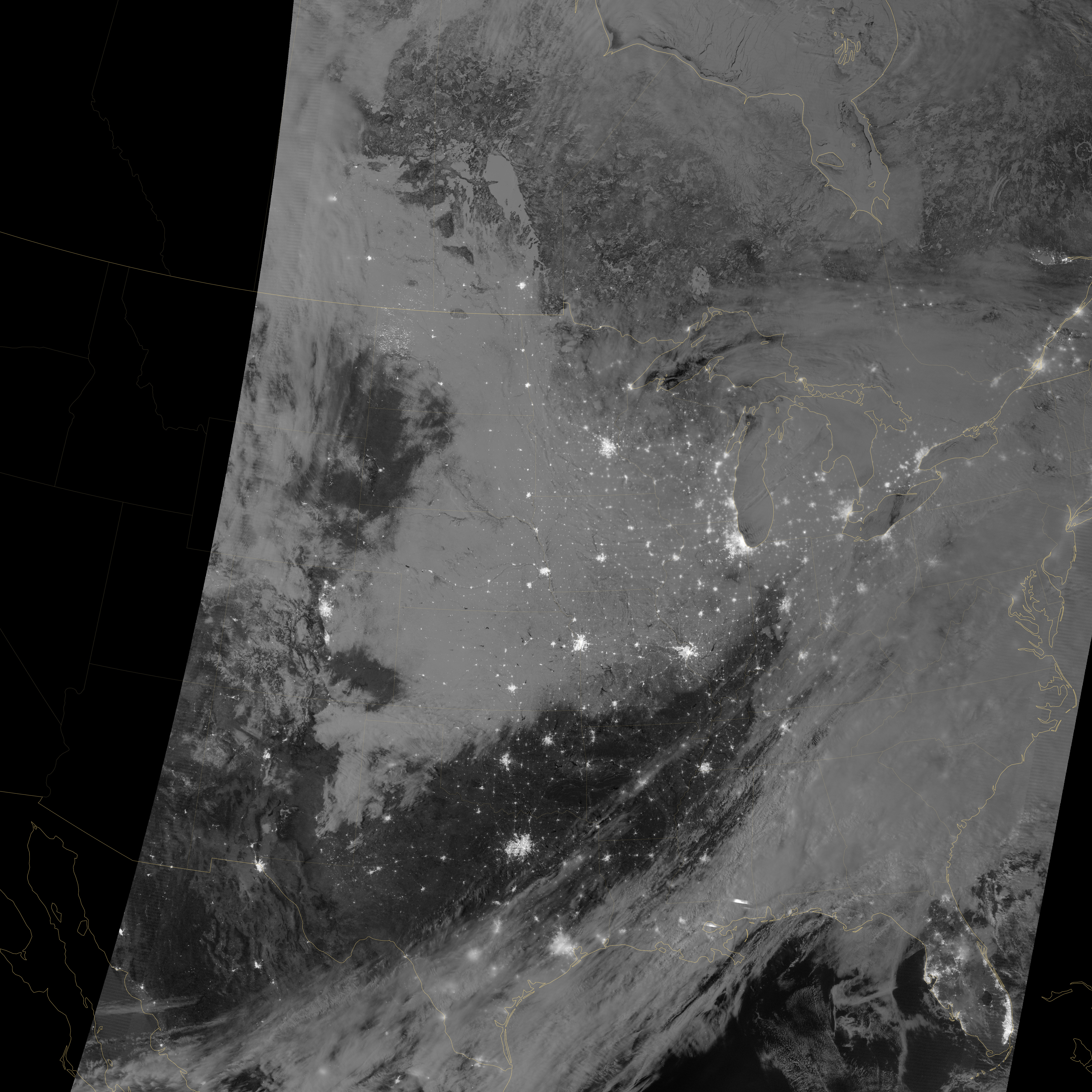 Winter Storm across Central United States - related image preview