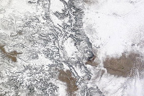 Another Snowstorm Strikes Western States - selected image