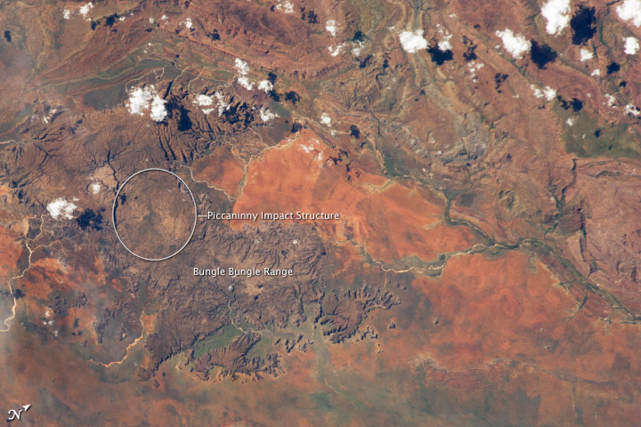 Piccaninny Impact Structure, Western Australia