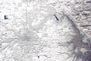 Record Snowfall in North Texas