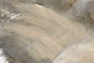 Dust Storm in China and Mongolia