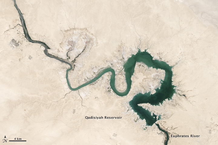 Freshwater Stores Shrank in Tigris-Euphrates Basin - related image preview