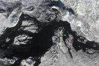 Fresh Lava on Tolbachik Volcano