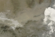 Dust in Central China