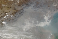 Dust in Eastern China