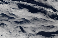 Clouds over the Southern Indian Ocean