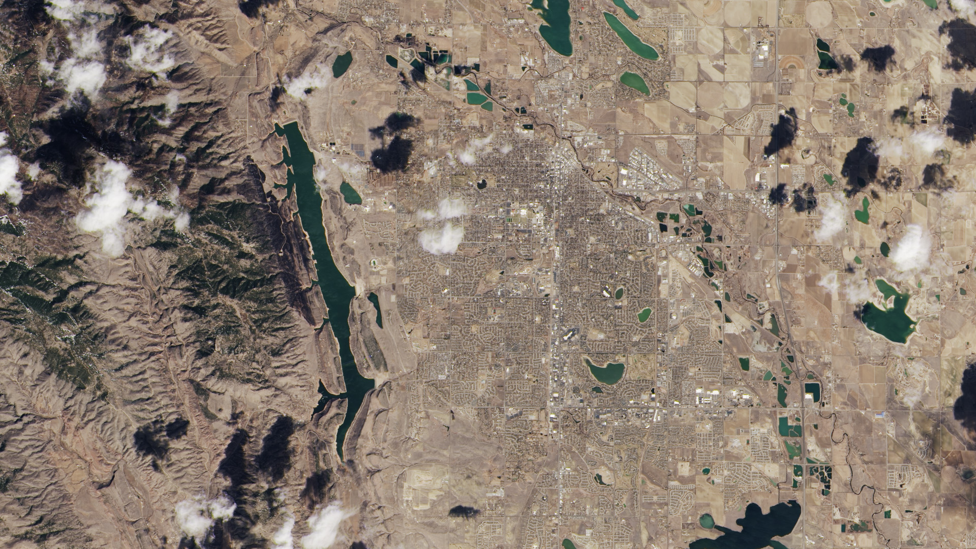 First View From The New Landsat Satellite