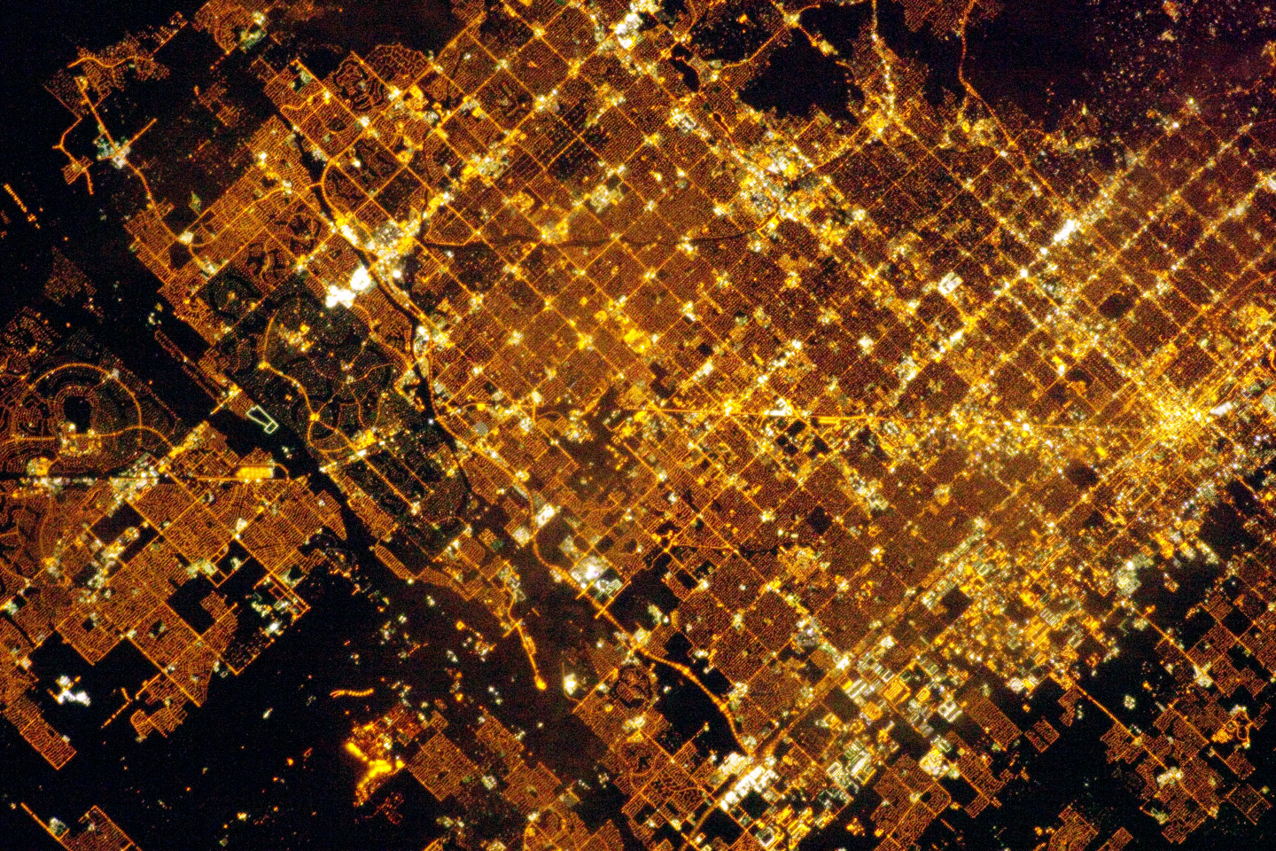 Phoenix Metropolitan Area at Night - related image preview