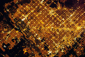 Phoenix Metropolitan Area at Night