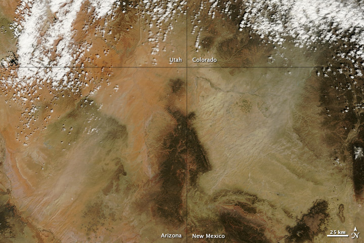 Dust over the Four Corners Region