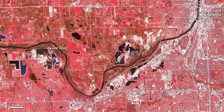 Flooding in the U.S. Midwest