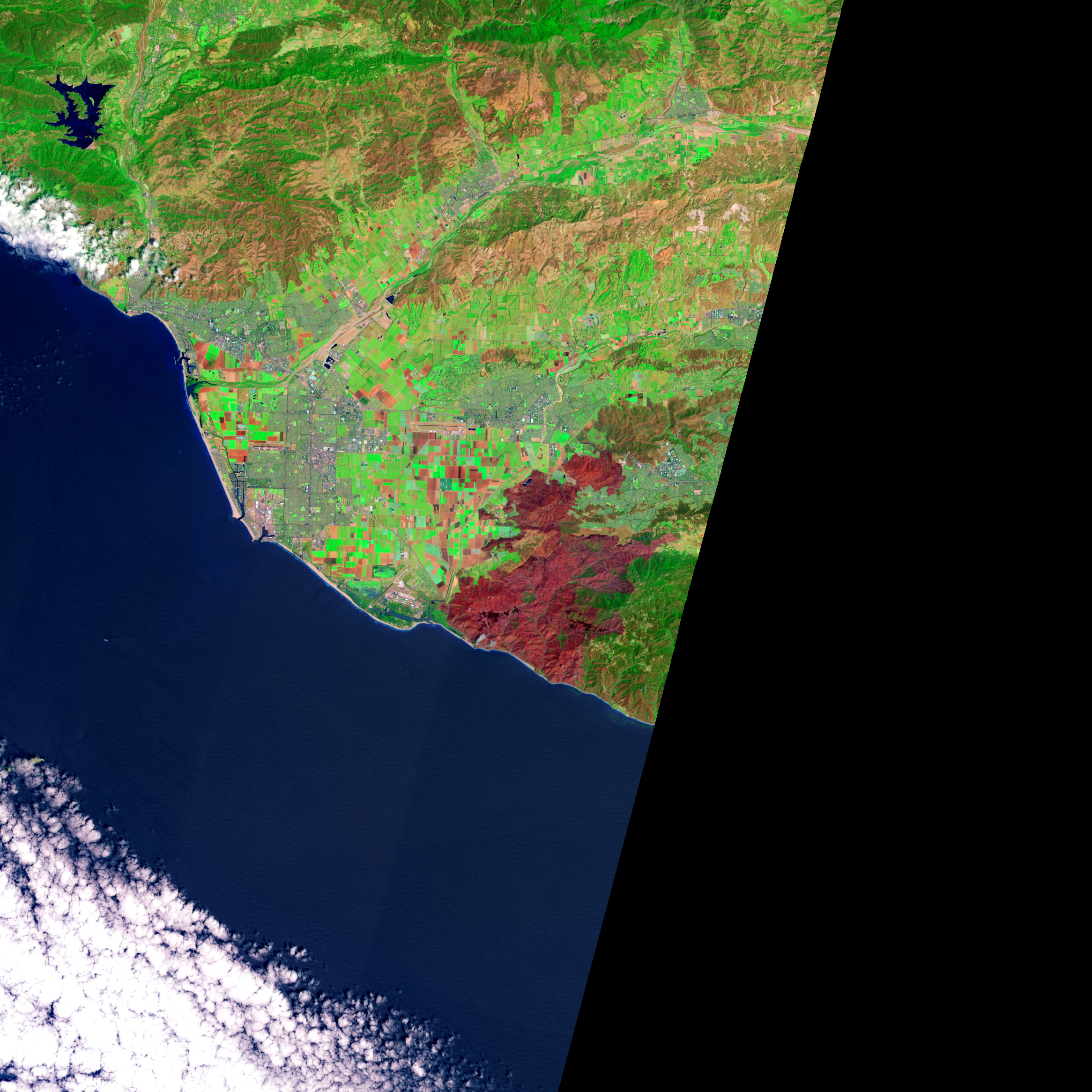 Mapping the Severity of Springs Fire from Space - related image preview
