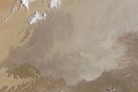 Dust Storm on the Arabian Peninsula