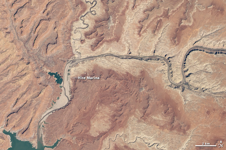 Lake Powell Low Despite Spring Snow
