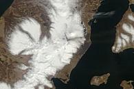 Pavlof Volcano Erupts