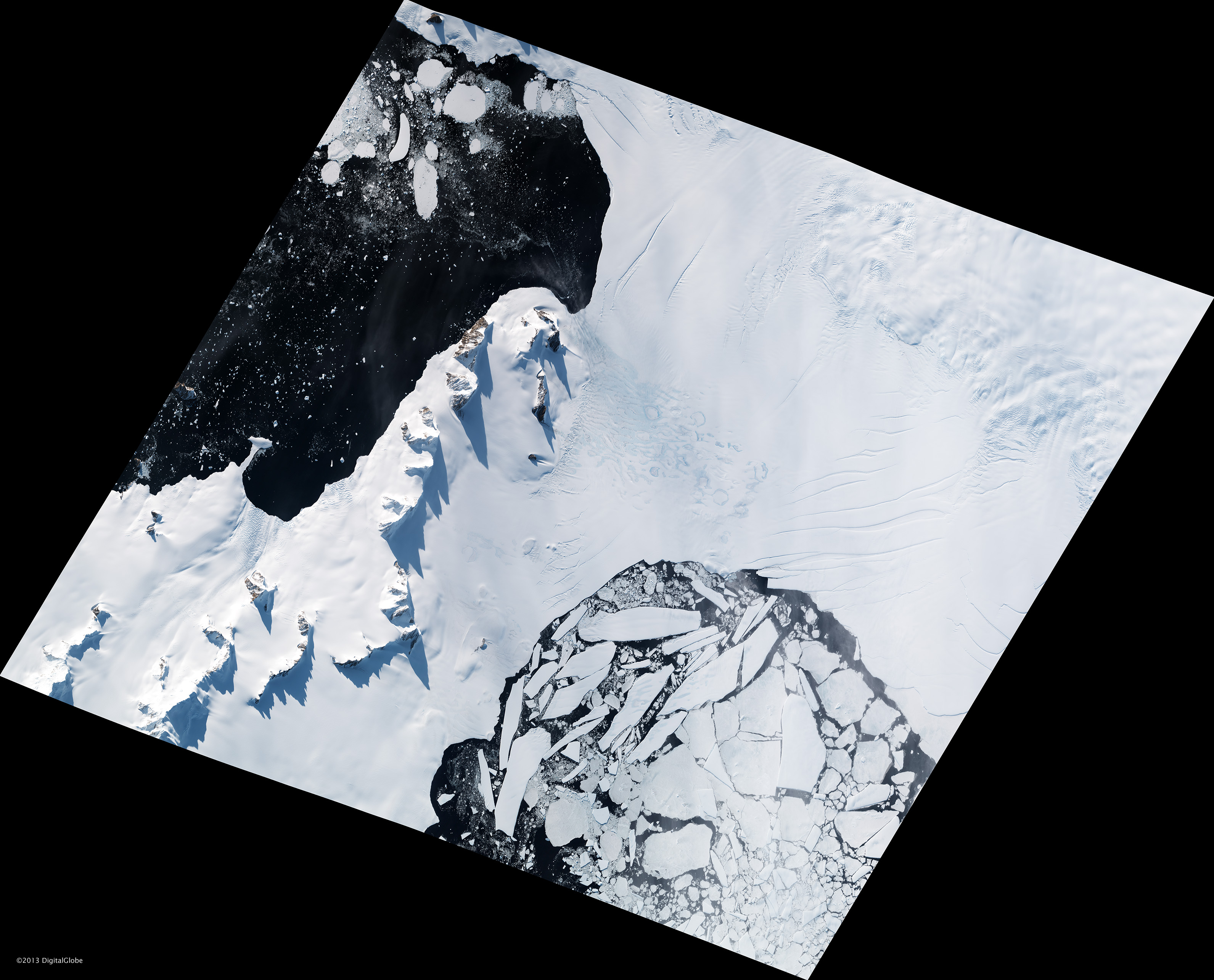 Breakup Continues on the Wilkins Ice Shelf - related image preview