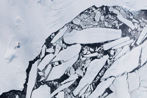 Breakup Continues on the Wilkins Ice Shelf - selected image
