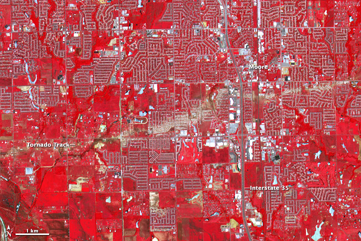 A Scarred Landscape in Oklahoma