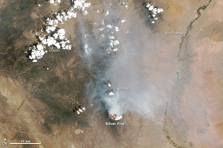Silver Fire, New Mexico