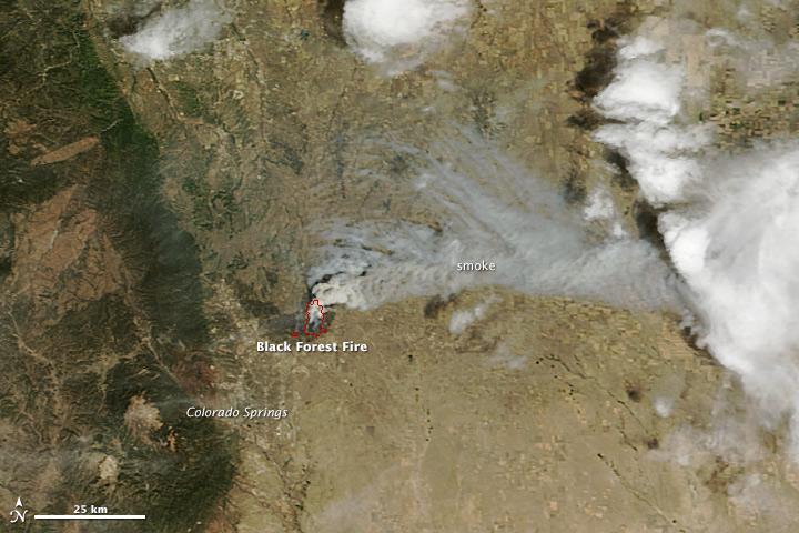 Black Forest Blaze is Colorado's Most Destructive