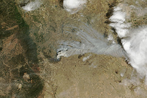 Black Forest Blaze is Colorado's Most Destructive : Image of the Day