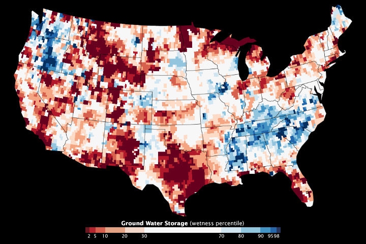 Water Storage Maps Show Improvement - related image preview