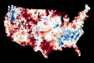 Water Storage Maps Show Improvement