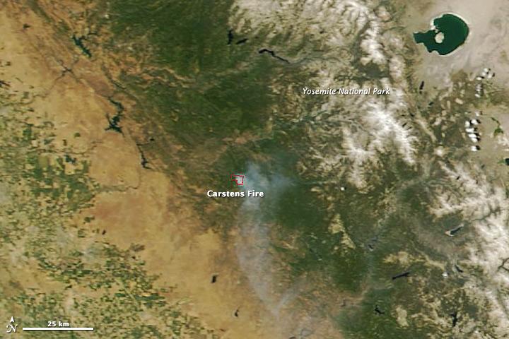 Carstens Fire, California