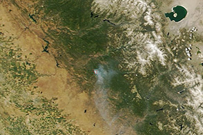 Carstens Fire, California