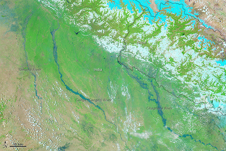 Severe Flooding in Northern India, Nepal